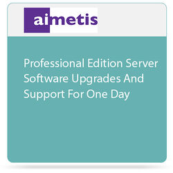 aimetis Symphony 7 Professional Edition Server Software Upgrades and Support for One Day