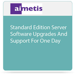aimetis Symphony 7 Standard Edition Server Software Upgrades and Support for One Day