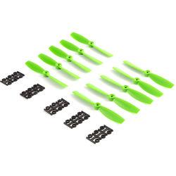 """HQProp Bullnose 6 x 4.5"""" Fiberglass Propeller (Green, 10-Pack)"""