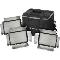 Genaray Escort Daylight LED Interview 3-Light Kit