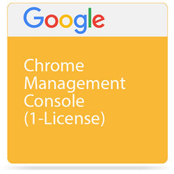 Google Chrome Management Console (1 License, 3 Years)