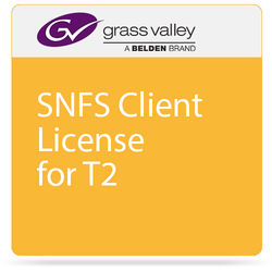 Grass Valley SNFS Client License for T2