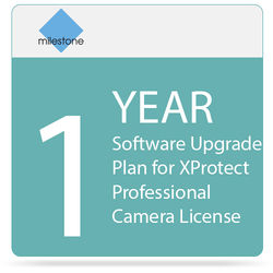 Milestone 1-Year Software Upgrade Plan for XProtect Professional Camera License