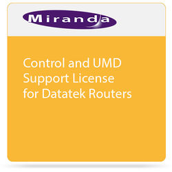 Miranda Control and UMD Support License for Datatek Routers