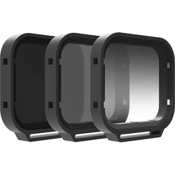 Polar Pro Venture Filter 3-Pack with Hard Case for GoPro HERO6 & HERO5 Black