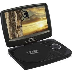 "Impecca 9"" Portable Swivel Multisystem DVD Player (Black)"