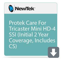 NewTek ProTek Care 2-Year Coverage for TriCaster Mini HD-4sdi