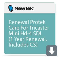 NewTek ProTek Care 1-Year Renewal for TriCaster Mini HD-4sdi