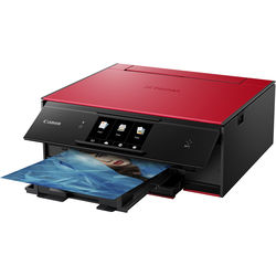 Canon PIXMA TS9020 Wireless All-in-One Inkjet Printer (Red)