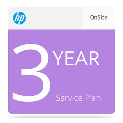 HP 3-Year Next Business Day Onsite Service with Defective Media Retention Care Pack for 8500 fn1 Scanner
