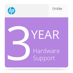 HP 3-Year 4 Hour 9x5 Hardware Support for LaserJet M806 Series Printers