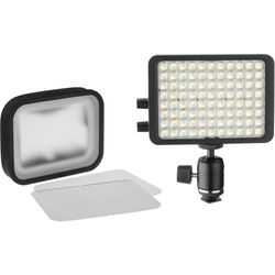 "Luxli Viola 5"" On-Camera RGB LED Light with Diffuser Kit"