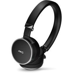 AKG N60NC Noise-Canceling On-Ear Headphones (Black)