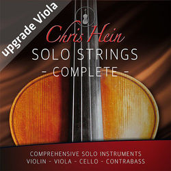 Best Service Chris Hein Solo Strings Complete Upgrade Viola - Virtual Instrument Bundle (Download)