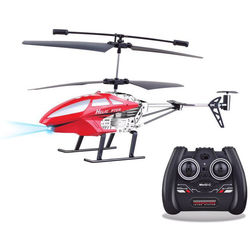 Top Race 3.5-Channel Remote Control Helicopter (Red)