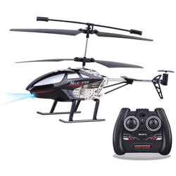 Top Race 3.5-Channel Remote Control Helicopter (Black)