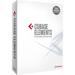 Steinberg Cubase Elements 9 - Personal Music Production Software (Educational, Boxed)