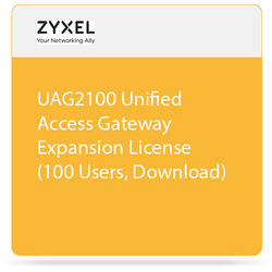 ZyXEL UAG2100 Unified Access Gateway Expansion License (100 Users, Download)