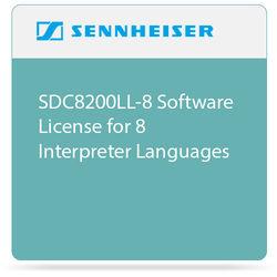 Sennheiser SDC8200LL-8 Software License for 8 Interpreter Languages