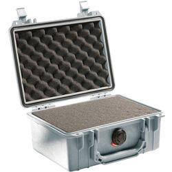 Pelican 1150 Case with Foam (Silver)