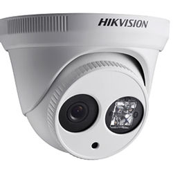 Hikvision Turbo HD 1080p Outdoor HDTVI Turret Camera with Night Vision & 3.6mm Fixed Lens (Off-White)