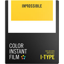Impossible Color Instant Film for I-Type (White Frame, 8 Exposures)