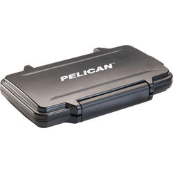 Pelican 0915 Memory Card Case for 12 SD, 6 miniSD, and 6 microSD Cards (Black)