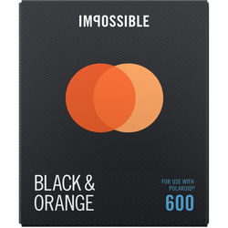 Impossible B&O Duochrome Instant Film for 600 (Black Frame, 8 Exposures)