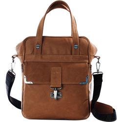 POMPIDOO Amsterdam Unisex Camera Bag (Aged-Looking Brown)