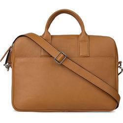 POMPIDOO Sydney Laptop Bag (Timber Brown)