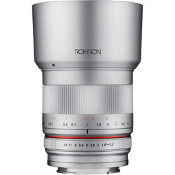 Rokinon 35mm f/1.2 ED AS UMC CS Lens for Sony E (Silver)