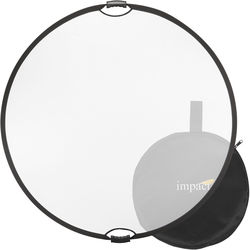 "Impact Collapsible Circular Reflector with Handles (42"", Translucent)"