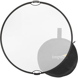 "Impact Collapsible Circular Reflector with Handles (32"", Translucent)"