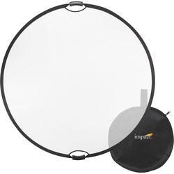 """Impact Collapsible Circular Reflector with Handles (52"""", Translucent)"""
