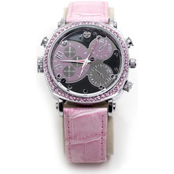 MGI - Minigadgets Inc Night Vision Wrist Watch DVR (8GB Storage, Pink)