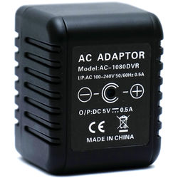 Mini Gadgets OmniAC1080P AC Adapter with 1080p Covert Camera