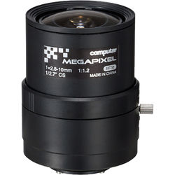 computar A4Z2812CS-MPIR CS-Mount 2.8-10mm Manual Varifocal Lens