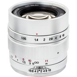 Mitakon Zhongyi Speedmaster 35mm f/0.95 Mark II Lens for Fujifilm X (Silver)
