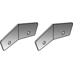 Turbosound ICC-2H Couplers for TCS-122 Cabinets (2 Pieces, Black)