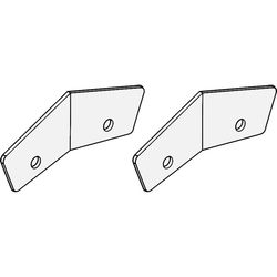 Turbosound ICC-2H Couplers for TCS-122 Cabinets (2 Pieces, White)