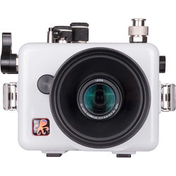 Ikelite Underwater Housing with TTL Circuitry for Panasonic LUMIX LX100 or Leica D-Lux Typ 109 (Updated Version, White)