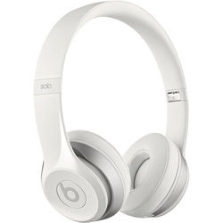 Beats by Dr. Dre Solo2 Wired On-Ear Headphones (White)