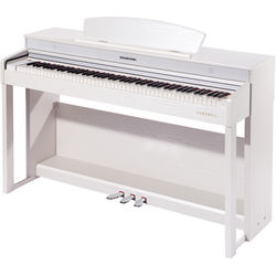Kurzweil Andante Series AMS-CUP220-WHT 9' German Concert Digital Grand Piano (White)