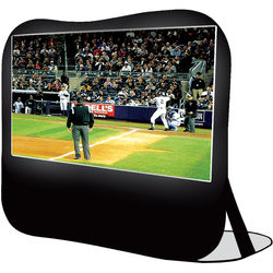 "Sima 84"" Pop Up Instand Portable Projection Screen (Black)"