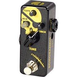 F-PEDALS Echobandit Gold Classic Analog Delay with Binson Style Tape Emulator