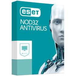 ESET NOD32 Antivirus 2017 (3 Users, 1-Year License, Download)