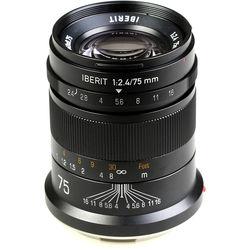 Handevision IBERIT 75mm f/2.4 Lens for Leica L (Black)