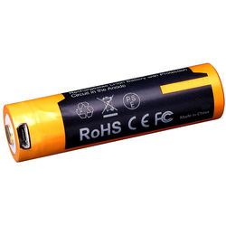 Fenix Flashlight 14500 Lithium-Ion Battery with Micro-USB Charging Port (1.5V, 1600mAh)