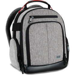 USA GEAR USA Gear UBK DSLR Camera Backpack (Gray)