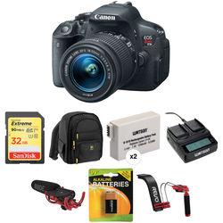 Canon EOS Rebel T5i DSLR Camera with 18-55mm STM Lens Video Kit